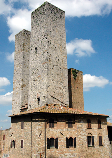 Photo:  San Gimignano towers